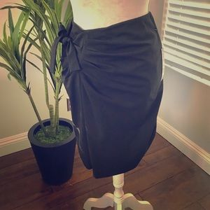 Tahari Draped Skirt